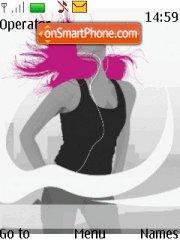 Music Love tema screenshot
