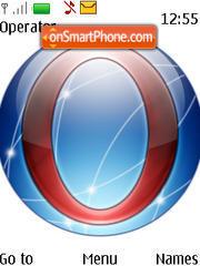 Opera Globe theme screenshot