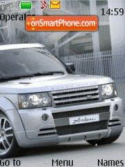 Range Rover Tuning es el tema de pantalla