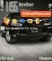 2008 Porsche Cayenne es el tema de pantalla