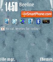 GreyN73v1 by M&G theme screenshot