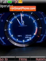 Speedmeter Clock es el tema de pantalla