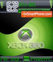 X-box es el tema de pantalla