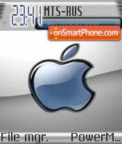 Blue Apple2 es el tema de pantalla