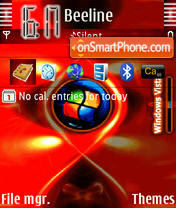 Vistatheme theme screenshot