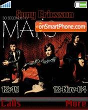 30 Seconds To Mars 01 theme screenshot