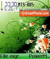 Green Art 01 es el tema de pantalla