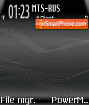 Music Edion Black theme screenshot