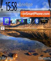 Sea v3N73 es el tema de pantalla