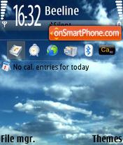 CloudsN73 es el tema de pantalla