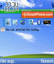 Xp 2010 theme screenshot