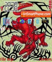 Red Dragon 01 theme screenshot