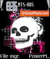 Emo Skull es el tema de pantalla