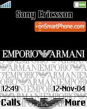 Armani 03 theme screenshot
