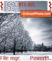Winter Scene es el tema de pantalla