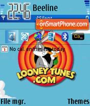 Looney Tunes 02 es el tema de pantalla
