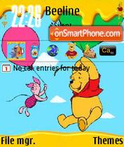Pooh N Piglet. theme screenshot