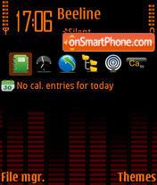 Equalizer 01 theme screenshot