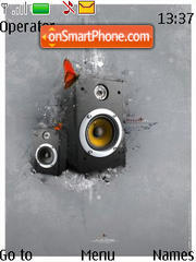 Speaker es el tema de pantalla