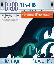 Keane es el tema de pantalla