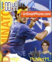 Roger Federer es el tema de pantalla