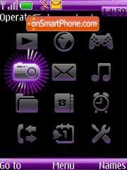 Cyber Shot theme screenshot