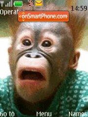 Monkey theme screenshot
