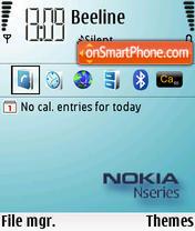 Nseries White theme screenshot