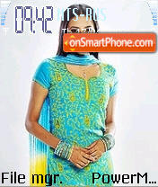 Prachi Shah theme screenshot