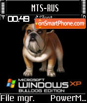 XP Bulldog Edition S60v2 theme screenshot