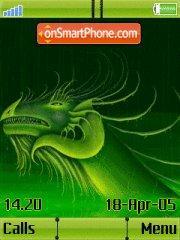 Dragon update w910i es el tema de pantalla
