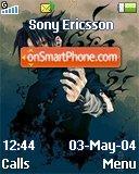 Sasuke Uchiha theme screenshot