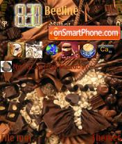 Chocolate theme screenshot