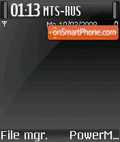 Dark Mac 2 DI es el tema de pantalla