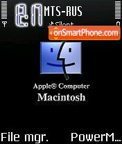 Mac S60v2 theme screenshot