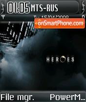 Heroesv2 es el tema de pantalla