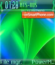 Color Waves theme screenshot