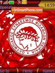 Olympiakos 01 es el tema de pantalla