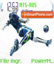 Futbolme es el tema de pantalla