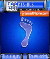 Frozen Footprint es el tema de pantalla