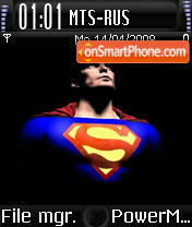 SupermanV2 es el tema de pantalla