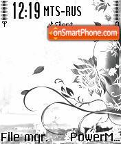 LAmour Sketch S60v2 es el tema de pantalla