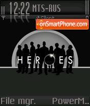 Heroes 04 es el tema de pantalla