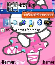 Hello Kitty 15 es el tema de pantalla