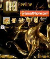 Gold Dragon es el tema de pantalla