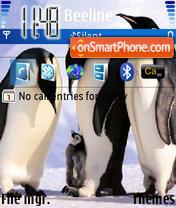 Pinguins 01 es el tema de pantalla