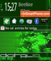 Digitalio L9.0 es el tema de pantalla