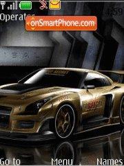 Nissan Skyline Gtr 03 theme screenshot