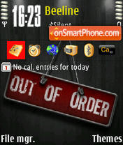 Out Of Order es el tema de pantalla