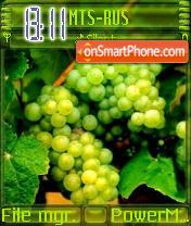 Grapes es el tema de pantalla